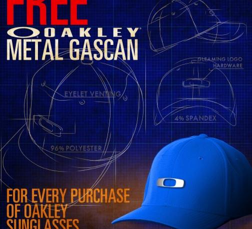 Free Metal Gascan cap